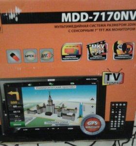 Магнитола MDD-7170NV