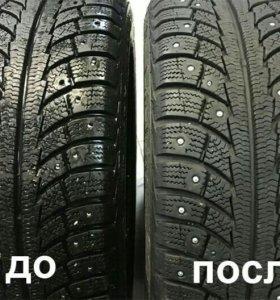 Ошиповка колёс