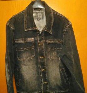 Куртка джинсовая, подростковая