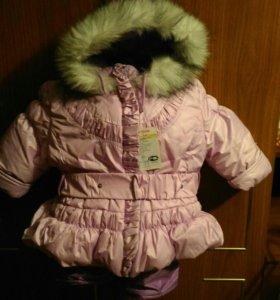 Зимние костюмы на девочку