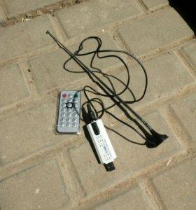 ТВ тюнер цифровой USB