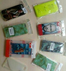 Силиконовые чехлы ( накладки) для apple iphone