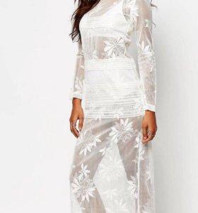 Кружевное платье Asos (новое)