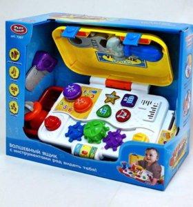 Волшебный ящик с инструментами, свет, звук, 7307-1