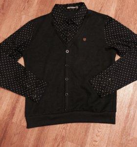 Джемпер/рубашка/Лонг/свитшот