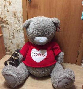 Огромный Медведь Тедди (с этикеткой)