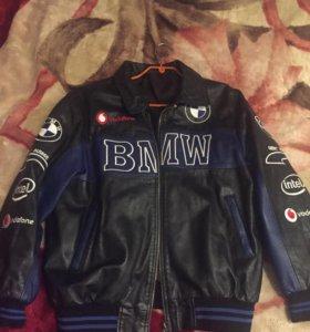 Кожаная куртка на подростка