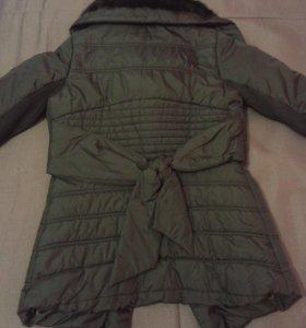 Куртка с мехом (кролик)