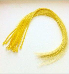 Цветные пряди из волос