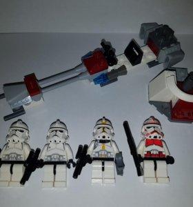 Lego Star Wars Раритет Клоны Дройды 7655 и 7654