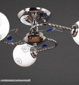 Люстра потолочная на 3 лампы от производителя