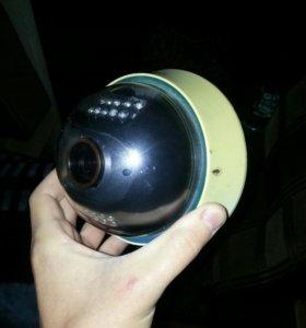 Видеорегистратор 4-х канальный с камерой