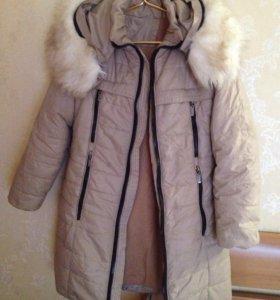Пальто на девочек 10-11 лет