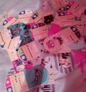 Коллекция карточек Миньоны (гадкий я 3)