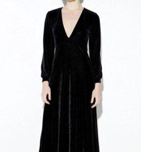 Платье новое из велюра