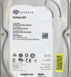 Жесткий диск SATA 500GB Seagate ST500DM002