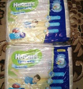 Памперсы Хагис 6(за 3 упаковки).