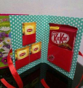 Шоколад,подарки