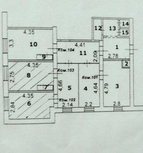 Комната, 14.4 м²