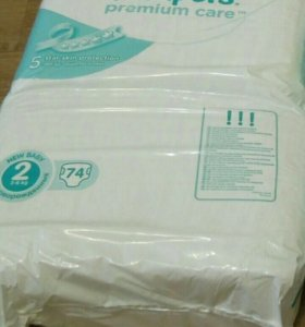 Подгузники Pampers premium care 2 (3-6кг)