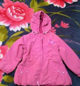 Курточка на девочку 1-3 лет