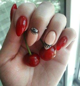 Наращивание ногтей, аппаратный маникюр и гель лак