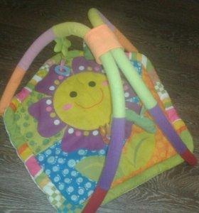 Детский развивающий коврик
