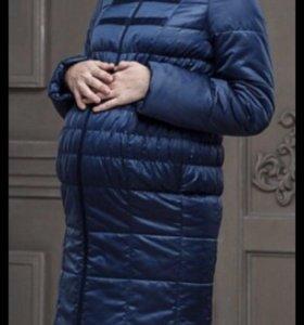 Пальто пуховое ( пуховик) для беременных