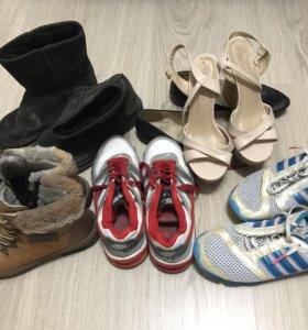 Ботики, угги, кроссовки, балетки, босоножки-за всё