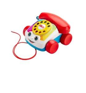 Fisher price музыкальный телефон