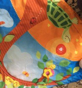 Детский игровой коврик + змейка в подарок