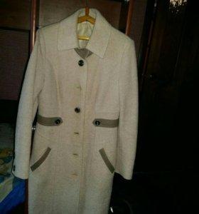 пальто из вареной шерсти