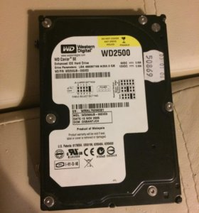 Жёсткий диск Western Digital Caviar SE 250gb