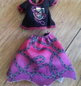 Одежда монстер хай от куклы