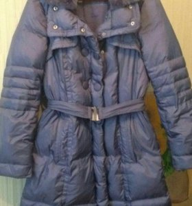 Пальто зимнее пух
