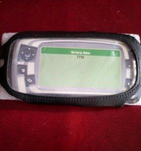 Чехол Nokia 7710 + наушники+палочки Verbatim