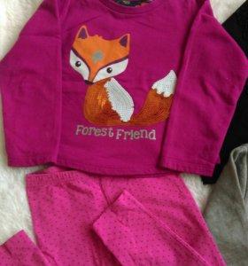 Одежда для девочки 110