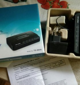 ADSL модем TP-LINK