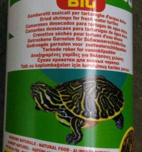 Корм для красноухих черепах
