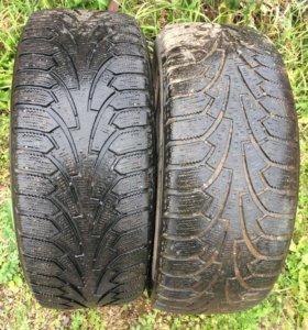 Зимние шины в количестве 2 штук