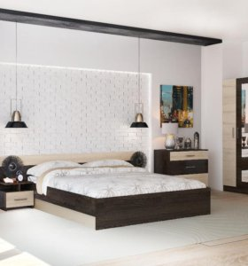 Спальня УЮТ, комод, матрас, шкаф