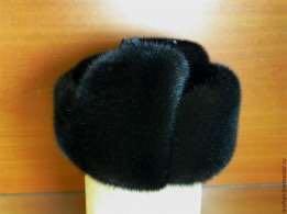 Продам норковую шапку ушанку, состоянии новой