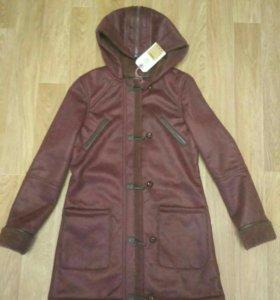 Новая куртка-дубленка 42-44