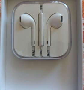 Гарнитура Apple EARPODS WHITH REMOTE AND MIC ZML