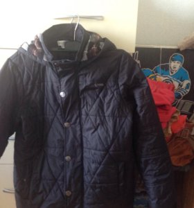 Куртка демисезонная на мальчика 152 рост