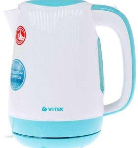 Чайник Vitek VT-7059 W 1.7 литра 2200Вт