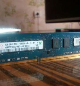 Оперативная память 4GB 2Rx8 PC3 -10600U