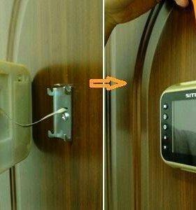 Установка видеоглазков для вашей квартиры