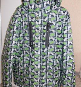 Горнолыжная куртка с маской для лица