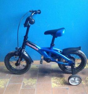 Детский велосипед. Колеса на 12.